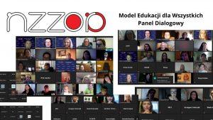 Zwiazek Oswiata Polska Model Edukacji dla Wszystkich panele dialogowe - zdjecia uczestnikow